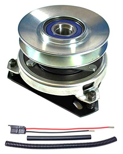 Xtreme Outdoor Power Equipment Bundle - 2 Items: PTO Electric Blade Clutch, Wire Harness Repair Kit. X0406 Replaces John Deere AM119536 PTO Clutch OEM Upgrade - w/Wire Harness Repair Kit