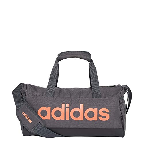 adidas Linear Logo Duffel XS Bag FM6749; Unisex Bag; FM6749; Grey; One Size EU (UK)