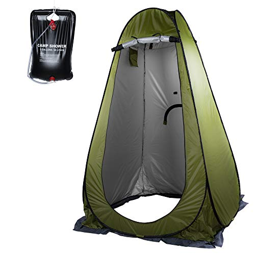 SEANADO Privacy Shower Tent- Pop Up Portable Outdoor Camp Toilet Changing Room...