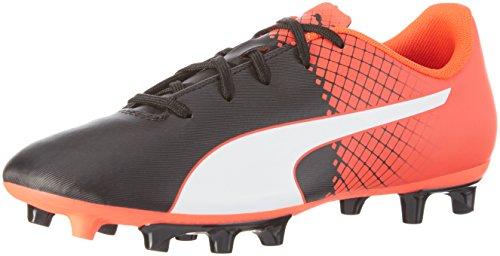 Puma Unisex EVO Speed 5.5 JR FG 103629 Fußballschuhe, Schwarz Black White-Red Blast 03, 38 EU