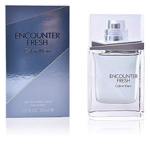 Calvin Klein Encounter Fresh 50 ml Eau de Toilette Spray für Ihn, 1er Pack (1 x 50 ml)
