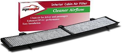 EPAuto CP430 (CUK8430) Replacement for BMW Premium Cabin Air Filter includes Activated Carbon for 100 Series (2008-2013), 300 Series (2006-2013), 700 Series (2013), X1 (2013-2015)
