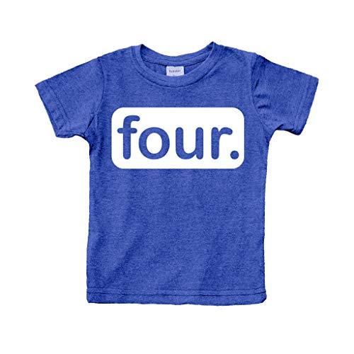 4th Birthday Shirt For Boys