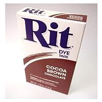 RIT染料 パウダー 20 cocoa brown ココアブラウン 煮沸染め