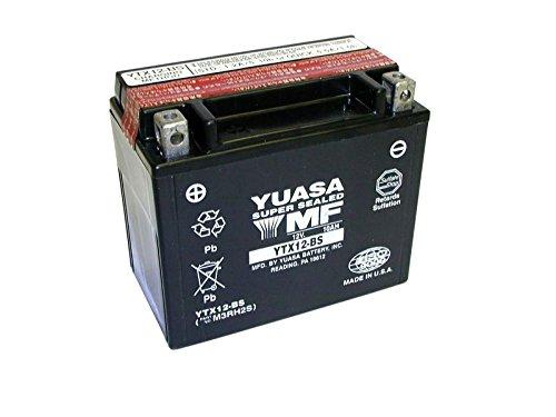 Yuasa de batería Kymco 250ccm Mongoose, Mxu Diseño Año todos (12-BS de BS)