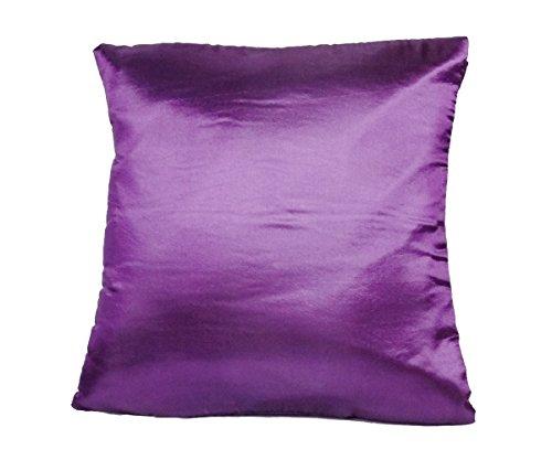 Morado manta funda de almohada decorativa sofá sofá de funda de cojín con cremallera 16x 16Inchs (40x 40cm)