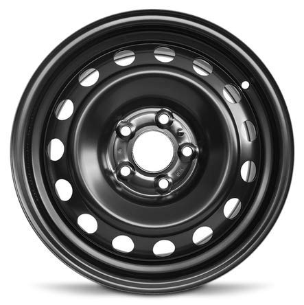 Road Ready Wheels Replacement For 2011-2013 Kia Optima 16 Inch Steel Rim 5 Lug Fits R16 Tire