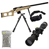 Pack complet Airsoft S.A.S 08 Couleur Sable Sniper Style VSS/Sniper à...