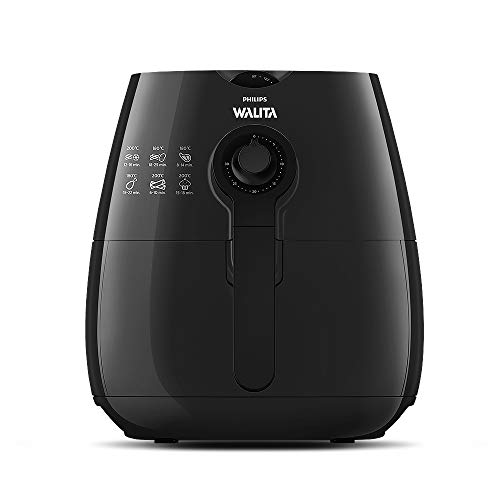 Fritadeira Elétrica Airfryer Viva Black Edition PHILIPS WALITA | 220V