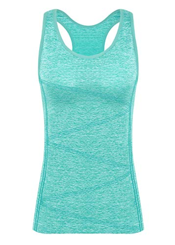 Disbest Débardeur et Tops de Sport Gilet Femme T-Shirt sans Manches Yoga Fitness Elastic Vest