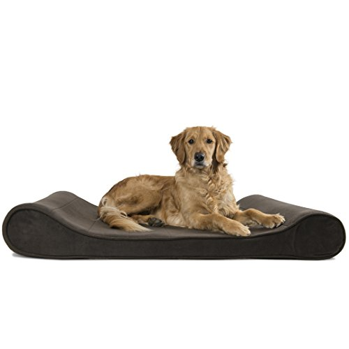 FurHaven Micro Velvet Luxe Lounger Pet Bed Bundle