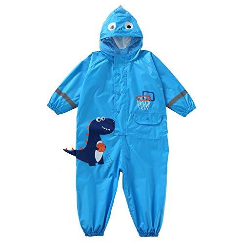 GFFTYX Veste de Pluie - Costume Pluie Petits avec Enfants Capot étanche Salopette Baby One Piece Rainsuit extérieur 1-7 Ans Pluie Porter (Color : #03, Size : S)