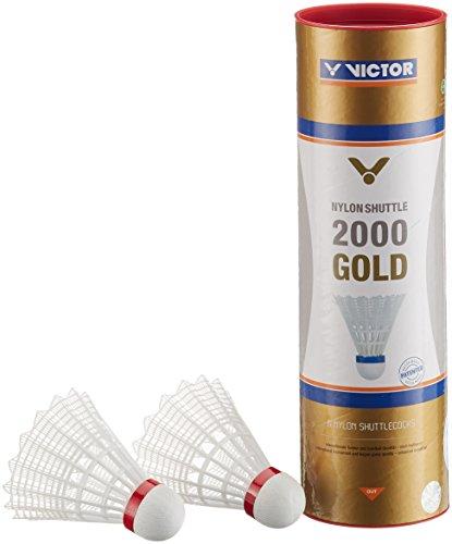VICTOR Nylon Shuttle 2000 Gold-Weiß-Rot