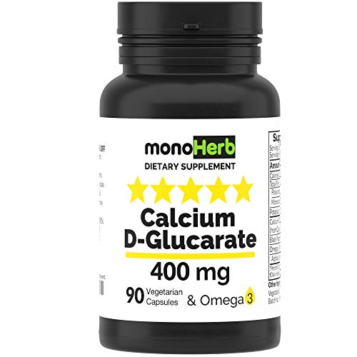 Calcium D-Glucarate 400 Mg - 90 Vegetari…