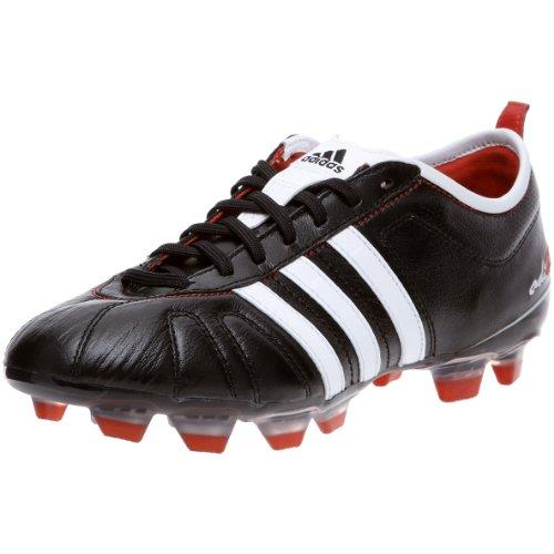 adidas Adipure IV TRX FG, Scarpe Calcio Uomo, Nero (Nero/Bianco/Rosso), 39 1/3 EU