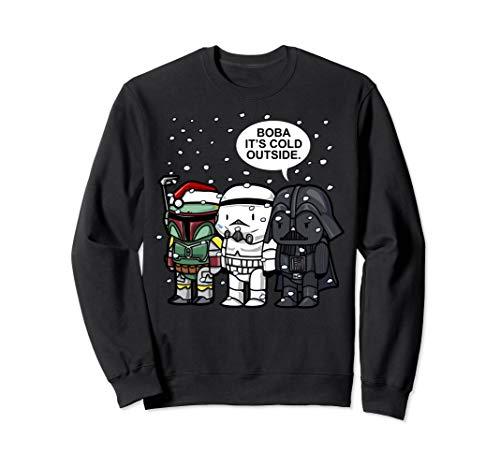 Star Wars Boba It's Cold Outside Winter Christmas Sweatshirt