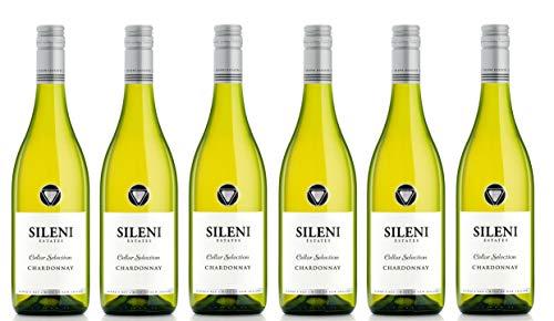 6x 0,75l - 2019er - Sileni - Cellar Selection - Chardonnay - Hawke's Bay - Neuseeland - Weißwein trocken