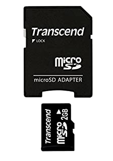 Transcend 2 GB microSD Flash Memory Card TS2GUSD (B000MSLW6G) | Amazon price tracker / tracking, Amazon price history charts, Amazon price watches, Amazon price drop alerts