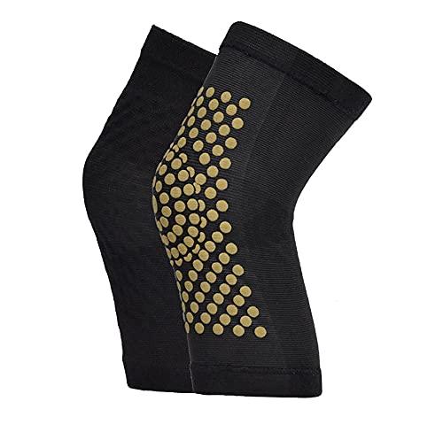 rodilleras 2 unids autocalentamiento soporte rodilla almohadillas de rodilla bracen caliente artritis cálida articulación dolor de alivio de alivio recuperación de la rodilla masajeador de la rodilla