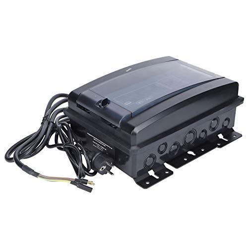 Generador de cloro para piscina, sistema de cloración de agua salada de 100 W para piscina, máquina de cloro salino electrolítico 20G / H, con indicador de baja salinidad, limpieza automática(yo)