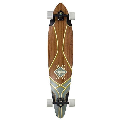 Mindless Longboards Mindless Core Pintail Skateboard, Erwachsene, Unisex, Mehrfarbig (Natur), Einheitsgröße