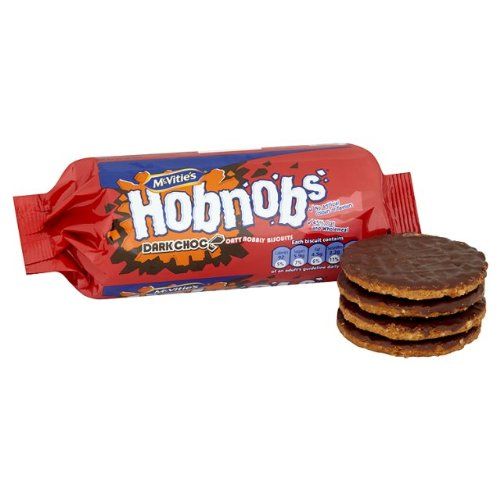 OC Mcvitie Dark Chocolate Hobnobs 4x262g