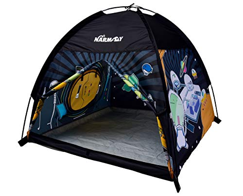 NARMAY Play Tent Space World Dome Tent for Kids Indoor / Outdoor Fun - 48 x 48 x 40 inch