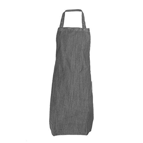 Dennys Erwachsene Unisex Denim Schürze (Einheitsgröße) (Grau)