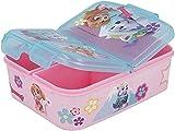 giovas Sandwichera con 3 Compartimentos para niños - lonchera Infantil - Porta merienda - Fiambrera Decorada