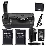 Battery Grip Bundle F/Nikon D5600: Includes Vertical Battery Grip, 2-Pk EN-EL14a Long-Life Batteries, Charger, UltraPro Accessory Bundle