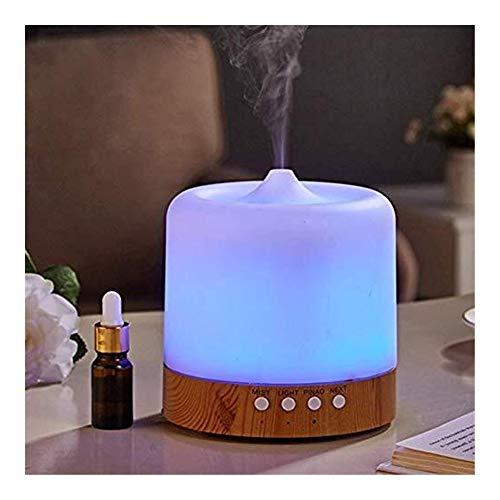 Kan de geur beter filteren, aromatherapie-luchtbevochtiger, 3D-luchtbevochtiger, aromatherapie, gezonde oliediffuser met 7 gekleurde ledlampen, ultrasone spray voor de mini.