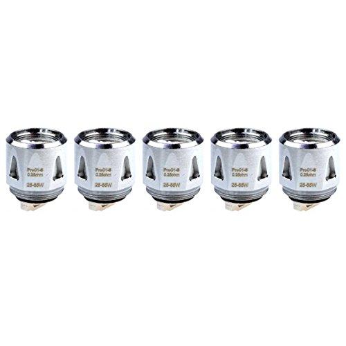 Joyetech Pro C1-S Coils (0,25 Ohm), Riccardo Verdampferköpfe für e-Zigarette, 5 Stück