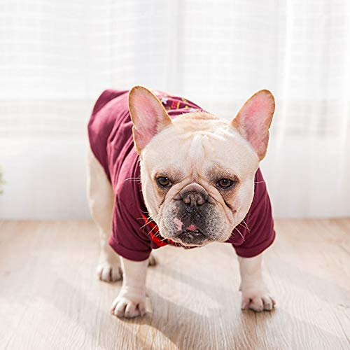 Modow Fashion Spring Summer dun bedrukt poloshirt, huisdiert-t-shirts, kleding voor middelgrote honden, kleine honden en katten