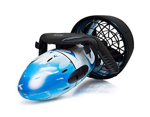 Stark-Tech SeaScooter Unterwasser Tauchscooter Wasser Propeller Scooter 300W bis6km/h schnell toller Unterwasser Spass in Coolem Design*