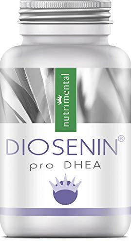 DIOSENIN® pro DHEA - Extracto de Ñame Silvestre - Raíz de Ñame - Complejo de DHEA - 60 cápsulas