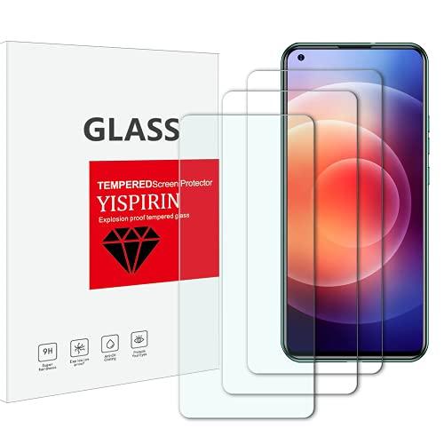 Yispirin - Protector de pantalla de cristal templado para Doogee N30, dureza 9H, antiarañazos, sin burbujas, protector de pantalla HD para Doogee N30