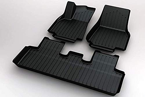 Tesmanian Tesla Model Y Floor Mats Interior Liner 2020