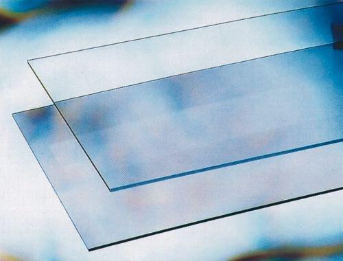 Vetro Sintetico in Lastra Trasparente Spessore 5 mm misura 100X100 cm