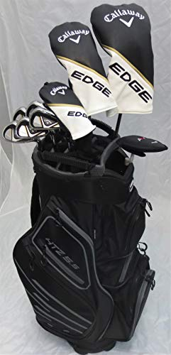 Mens Callaway Complete Golf Set - Clubs Driver, Fairway Wood, Hybrid, Irons, Putter Cart Bag Reg...