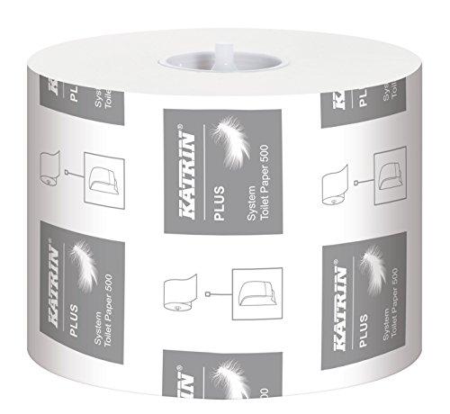 Katrin Plus Système WC 3plis/3plis 968papier toilette 500feuilles (lot de 36)