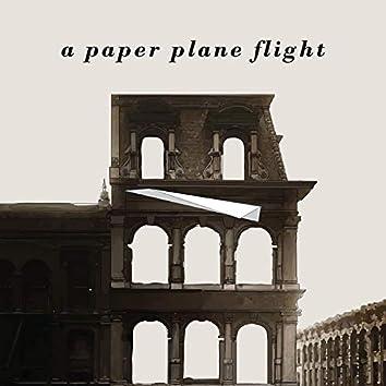 A Paper Plane Flight