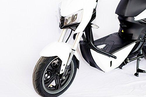 Elektro Motorroller mit Straßenzulassung – Zweisitzer – 45 km/h Bild 4*