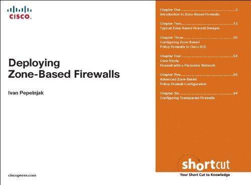 Deploying Zone-Based Firewalls, Digital Shortcut (English Edition)