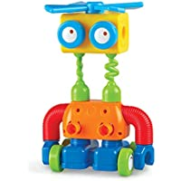 Learning Resources 1-2-3 Build It Robot Building Set (Ages 2+)