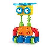 Learning Resources- Fábrica 1-2-3 Build it, Juguete para Practicar la motricidad Fina, Set para Construir Robots, niños de 2+ años (LER2869)