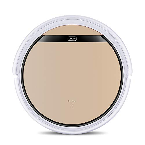 Best Bargain YHML Robot Vacuum Cleaner 1200PA, 300ml Water Tank Pet Hair Household Wet and Dry Moppi...