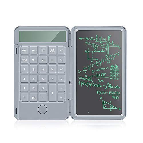 QQO Taschenrechner, 6,5-Zoll-ultradünnen Handschrift Bord mit Rechner Portable intelligente LCD wiederaufladbare Falten Grafikkarte Mini Zeichnung Pads (Color : B)