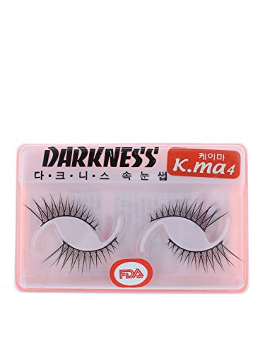 Darkness False Eyelashes K-ma 4 by False Eyelashes K-ma 4