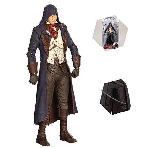 Assassins Creed Arno Victor Dorian Animado Figura Assassin Juego articulación móvil
