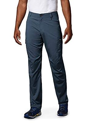 Columbia Men's Standard Silver Ridge Stretch Pants, Dark Mountain, 34 x 34